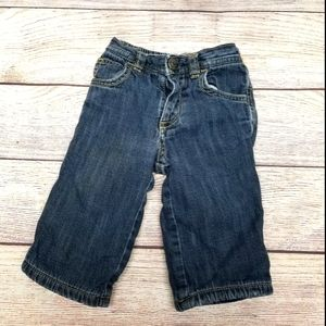 3-6 month fleece lined Jean's Old Navy